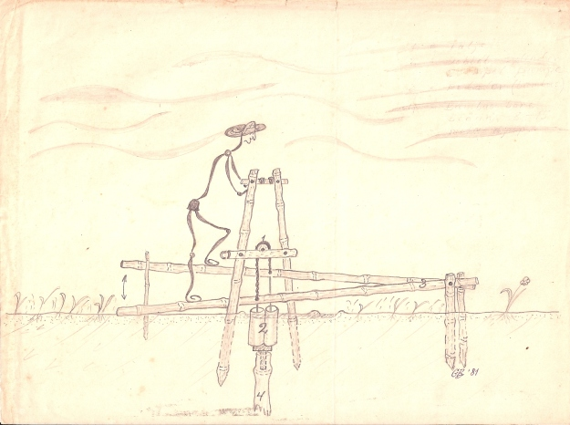Treadle_pump_GB_drawing